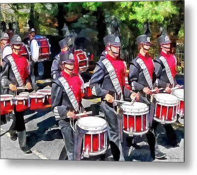 Drum Section Metal Print