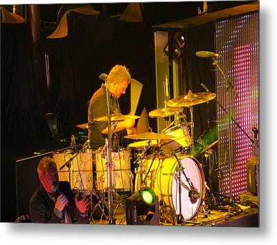 Metal Print featuring the photograph Drumer For Newsong Rocks Atlanta by Aaron Martens