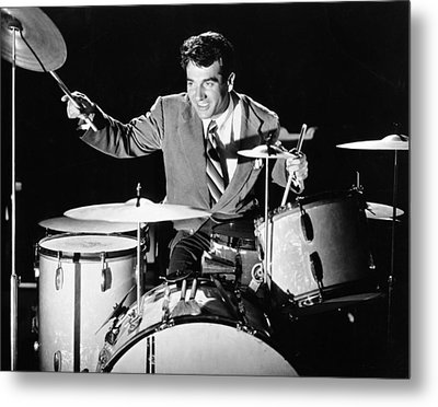 Drummer Gene Krupa Metal Print by Underwood Archives