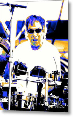 Drumming On The Edge Of Magic Metal Print by Jesse Ciazza