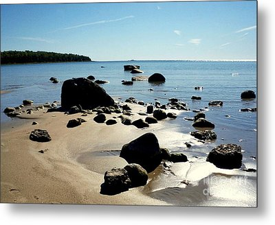 Drummond Shore 2 Metal Print