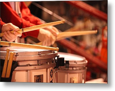 Drums Metal Print