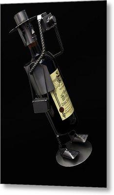 Drunken Tog Metal Print by Nigel Jones