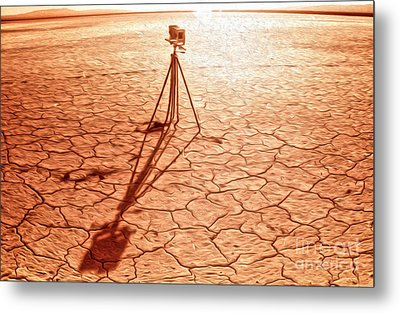 Dry Lake Photography Metal Print by Gregory Dyer