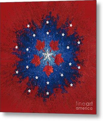 Dual Citizenship 2 Metal Print by First Star Art