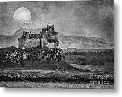 Duart Castle Scotland Metal Print by Juli Scalzi