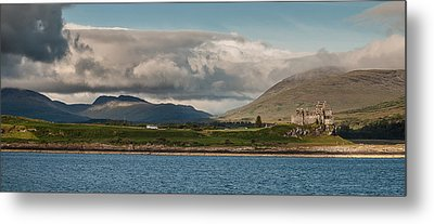 Metal Print featuring the photograph Duart Castle by Sergey Simanovsky