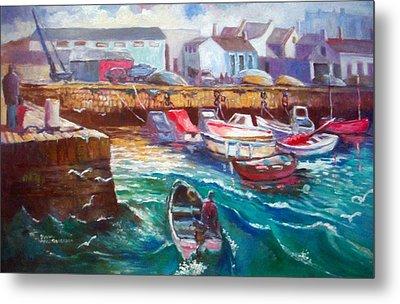 Dublin Ireland Bullock Harbour Metal Print