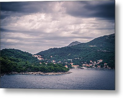 Dubrovnik Landscape Metal Print by Matti Ollikainen