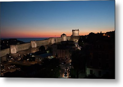 Metal Print featuring the photograph Dubrovnik by Silvia Bruno