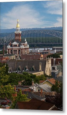 Metal Print featuring the photograph Dubuque Iowa by Jane Melgaard
