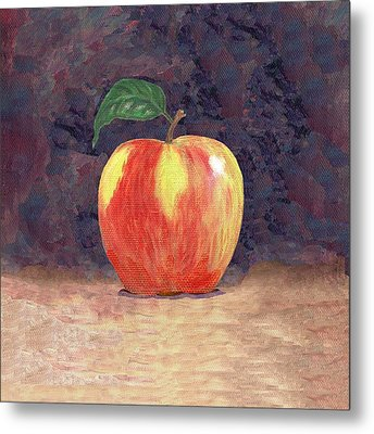 Duchess Apple Two Metal Print by Linda Mears