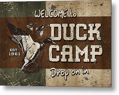 Duck Camp Metal Print
