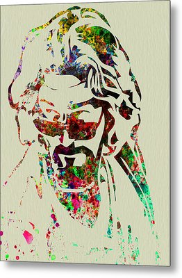 Dude Metal Print by Naxart Studio