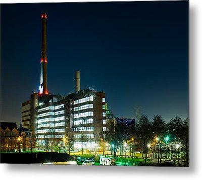 Duisburg Thyssen Krupp Factory Apostel Street Metal Print