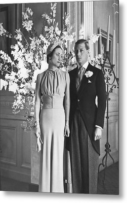 Duke And Duchess Of Windsor Metal Print