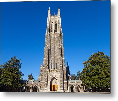 Duke Chapel Metal Print by Melinda Fawver