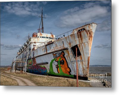 Duke Of Graffiti Metal Print by Adrian Evans