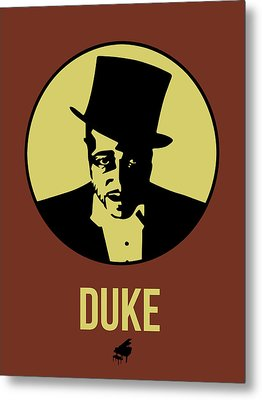 Duke Poster 1 Metal Print by Naxart Studio