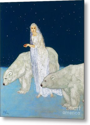 Dulac: The Ice Maiden, 1915 Metal Print by Granger