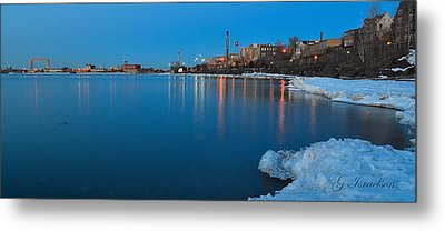 Duluth Dawn Metal Print by Gregory Israelson