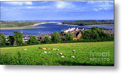 Dundrum Bay In County Down Ireland Metal Print by Nina Ficur Feenan