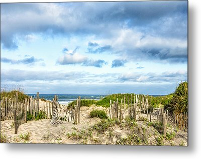 Metal Print featuring the photograph Dune At Coquina Beach by Gregg Southard