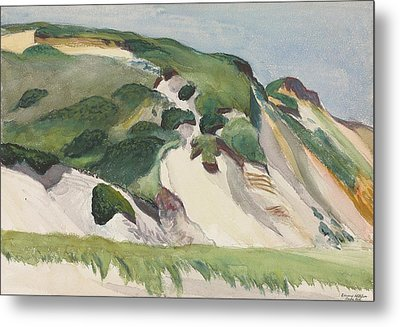 Dune At Truro Metal Print by Edward Hopper
