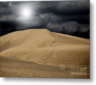 Dune Metal Print by Flow Fitzgerald