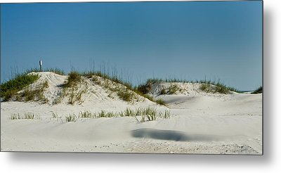 Dune Sign Metal Print by Denis Lemay