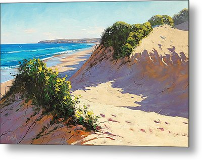 Dunes Central Coast Metal Print by Graham Gercken