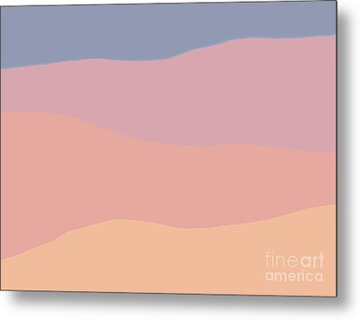 Dunes Forward Metal Print