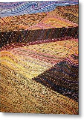 Dunes Metal Print by Maria VanderMolen