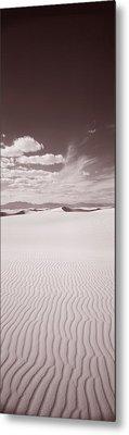 Dunes, White Sands, New Mexico, Usa Metal Print