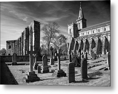 Dunfermline Palace And Abbey Metal Print