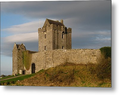 Metal Print featuring the photograph Dunguire Castle by Kathleen Scanlan