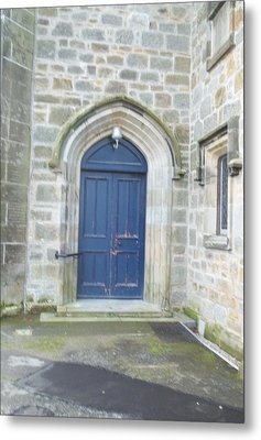 Dunlop Kirk Arched Doorway Metal Print