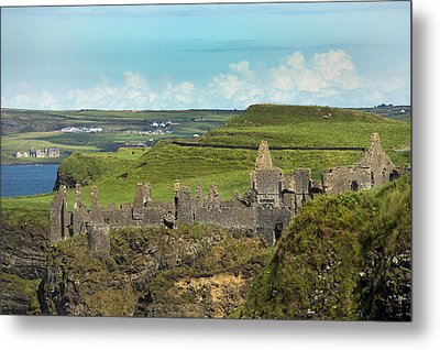 Dunluce Afternoon Ireland Metal Print