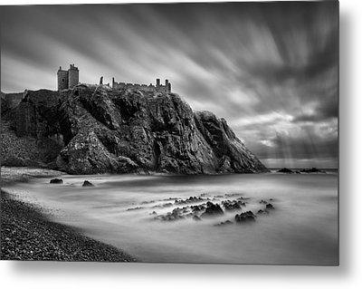 Dunnottar Castle 2 Metal Print by Dave Bowman