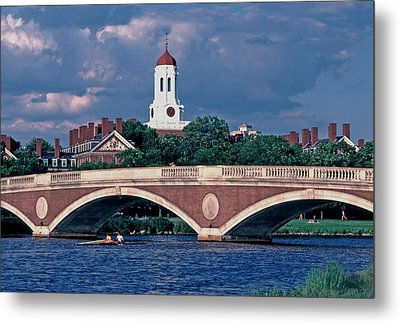 Weeks Bridge Charles River Metal Print