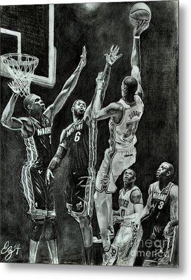 Durant For The Win Metal Print