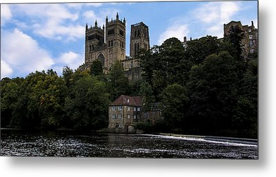 Durham Cathedral And Fulling Mill Metal Print by Trevor Kersley