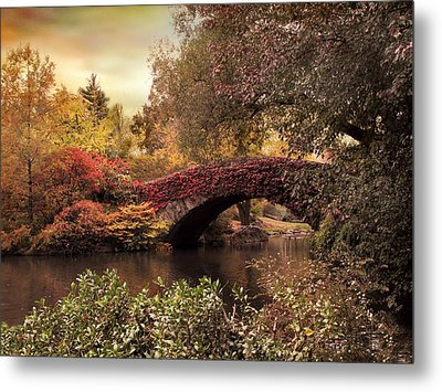 Metal Print featuring the photograph Dusk At Gapstow by Jessica Jenney