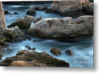 Metal Print featuring the photograph Dusk At Montana De Oro by Michael Rock