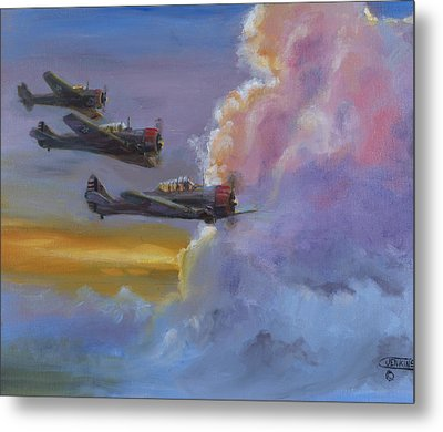 Dusk Flight Metal Print by Christopher Jenkins