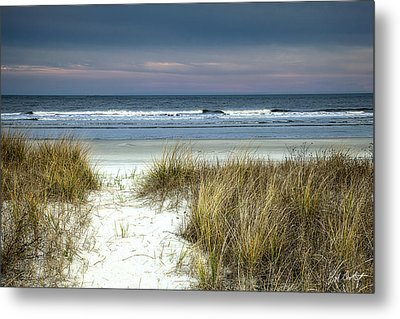 Dusk In The Dunes Metal Print by Phill Doherty
