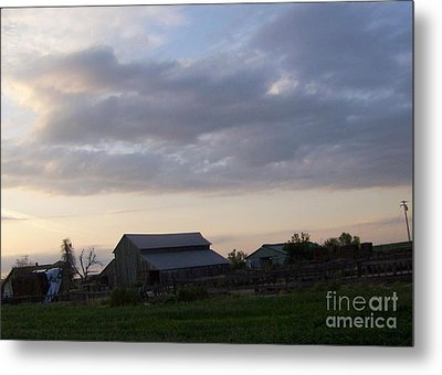 Metal Print featuring the photograph Dusk To Dawn by Bobbee Rickard