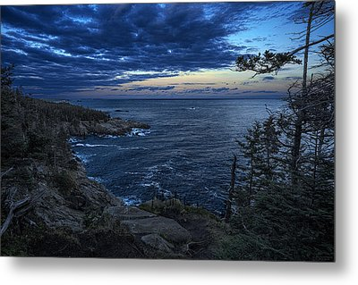 Dusk Vista At Quoddy Head State Park Metal Print by Marty Saccone