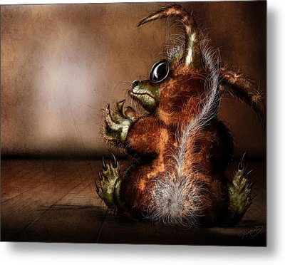 Dust Bunny Metal Print by Jeremy Martinson