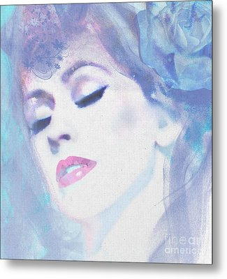 Dusty Blues Metal Print by Kim Prowse